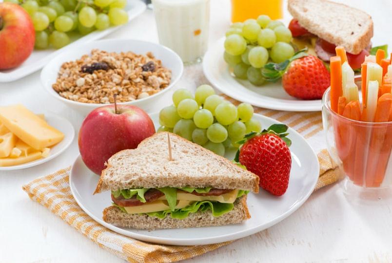 Утро и питание - фото